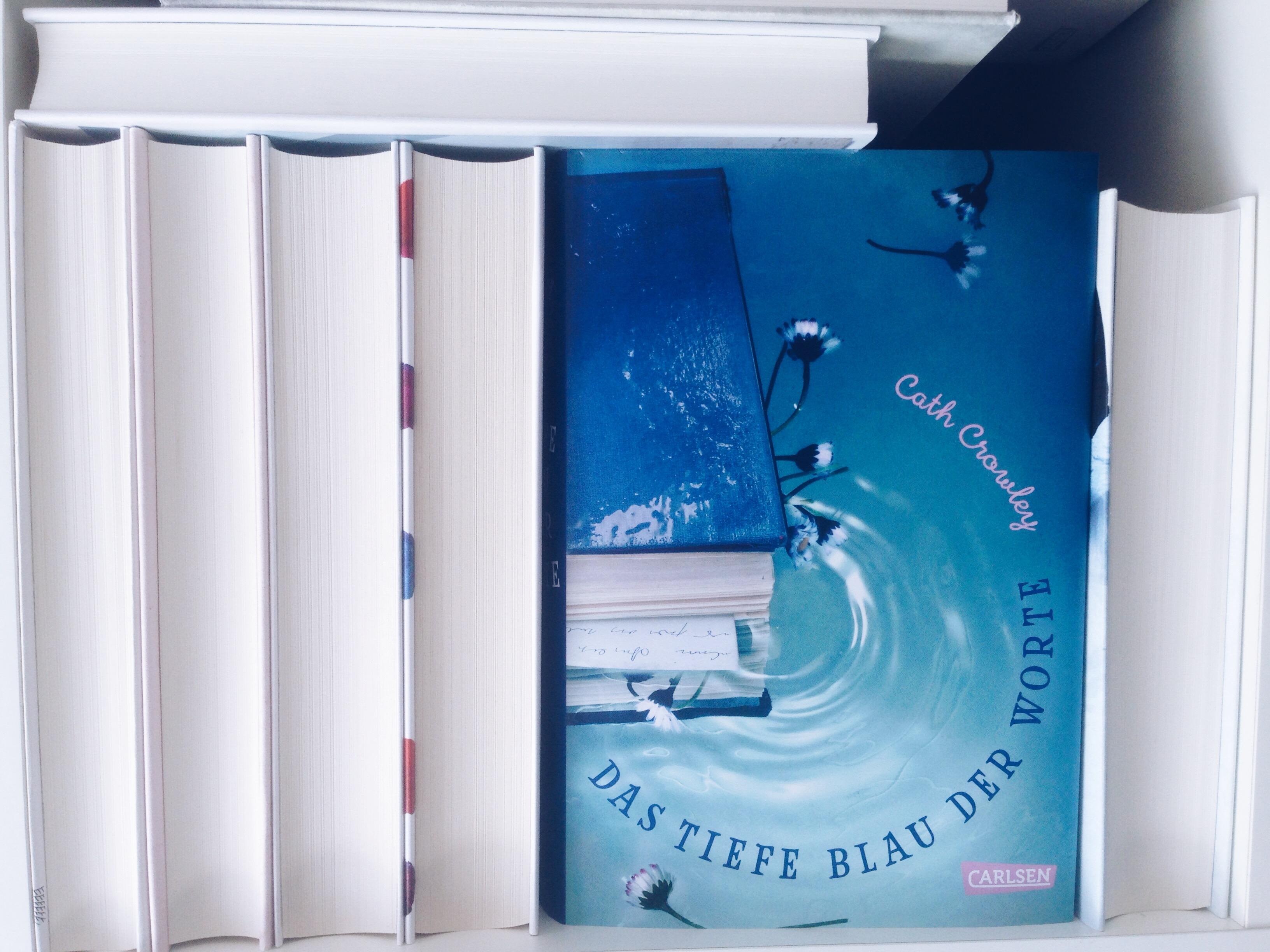 Das tiefe Blau der Worte - Cath Crowley - Titelbild