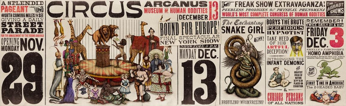 Circus Arcanus Werbeplakat