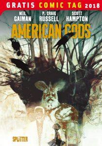 American Gods - Gratis Comic Tag