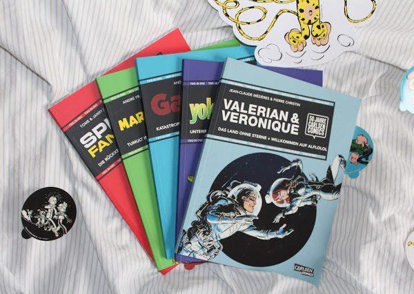 50 Jahre Carlsen Comics + Gewinnspiel