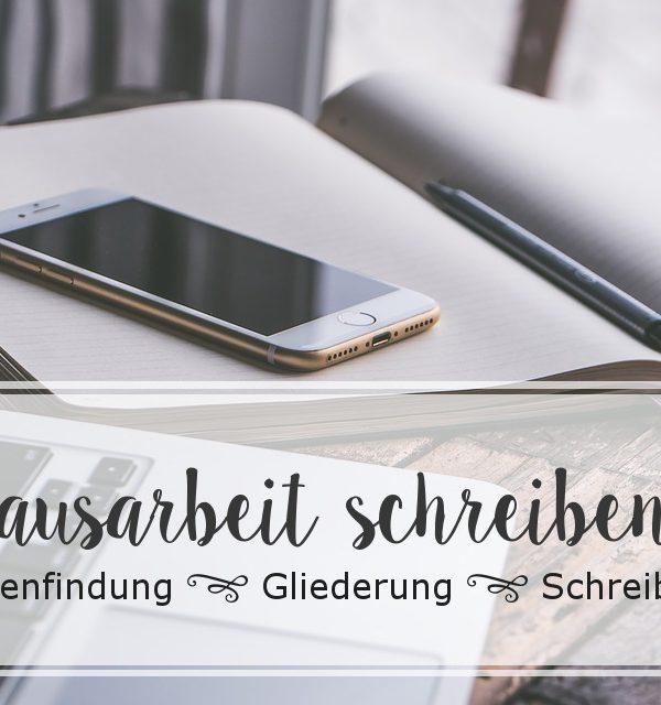 Hausarbeiten schreiben | Themenfindung, Gliederung und Schreibplan