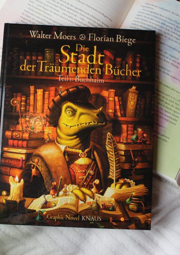 Rezension | Die Stadt der träumenden Bücher: Buchhaim – Walter Moers und Florian Biege