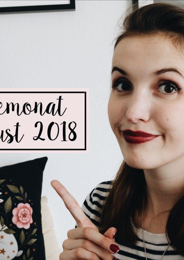 Monatsrückblick August 2018 | Sommerliche Lesezeit