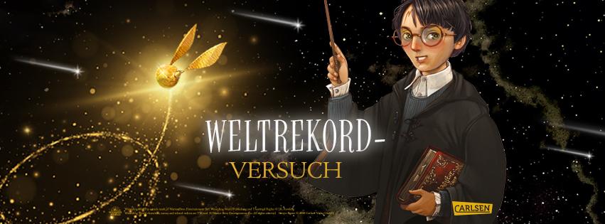 Weltrekordversuch Harry Potter