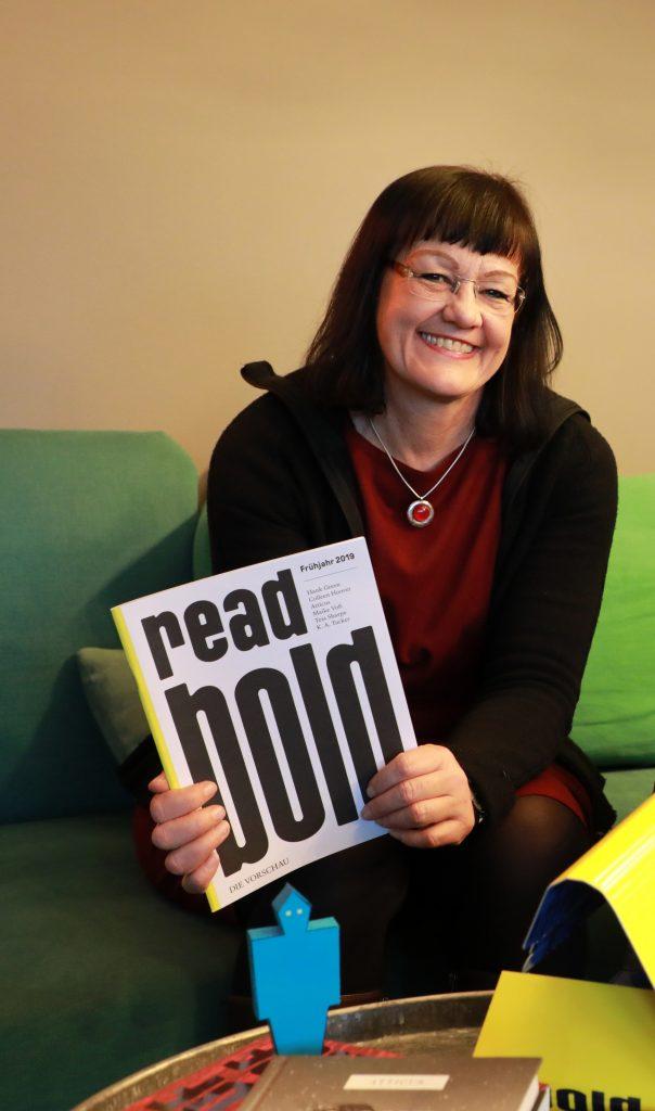 Susanne Stark, Programmleitung dtv bold