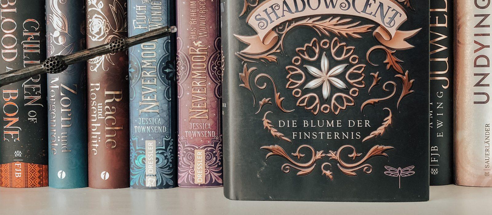Shadowscent: Die Blume der Finsternis – P.M. Freestone | Rezension